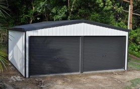 Dinky di sheds products for Kit di garage residenziali