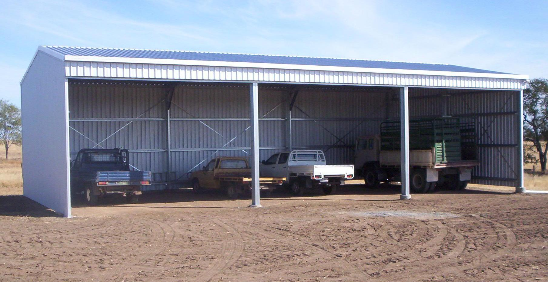 open front farm sheds
