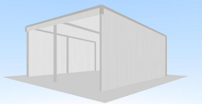 Learn open front shed plans pto for Open front shed