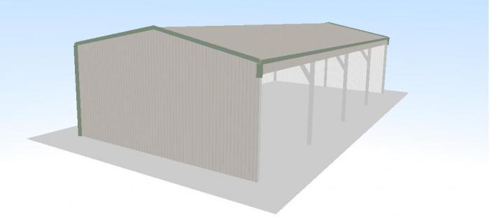 Soundproofing a wooden shed must see dan pi for Open front shed