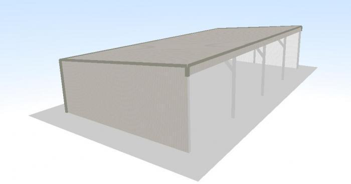 Open front cattle shed plans joy studio design gallery for Open front shed