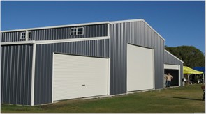 Dinky di sheds products for Large garage with living quarters